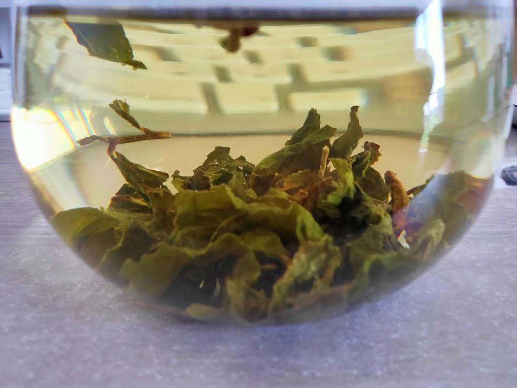 台湾リプトンの時間が経過した高山烏龍茶
