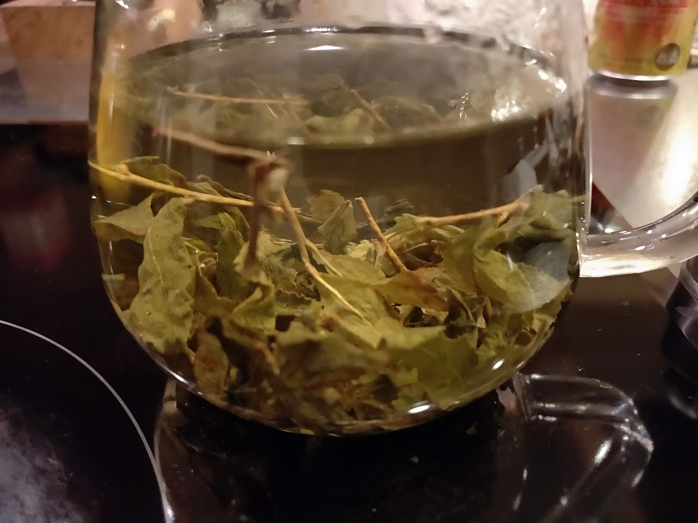 台湾リプトンの時間が経過した烏龍茶