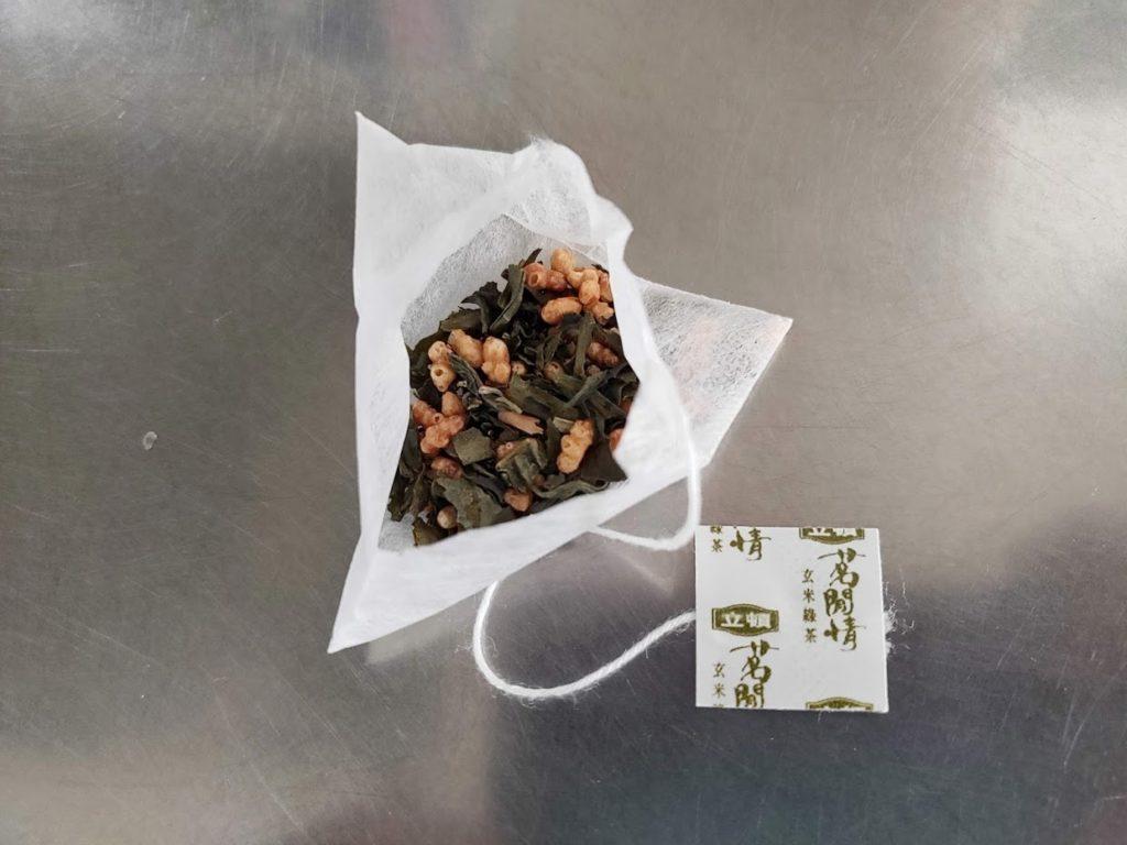 台湾リプトンの玄米茶パック