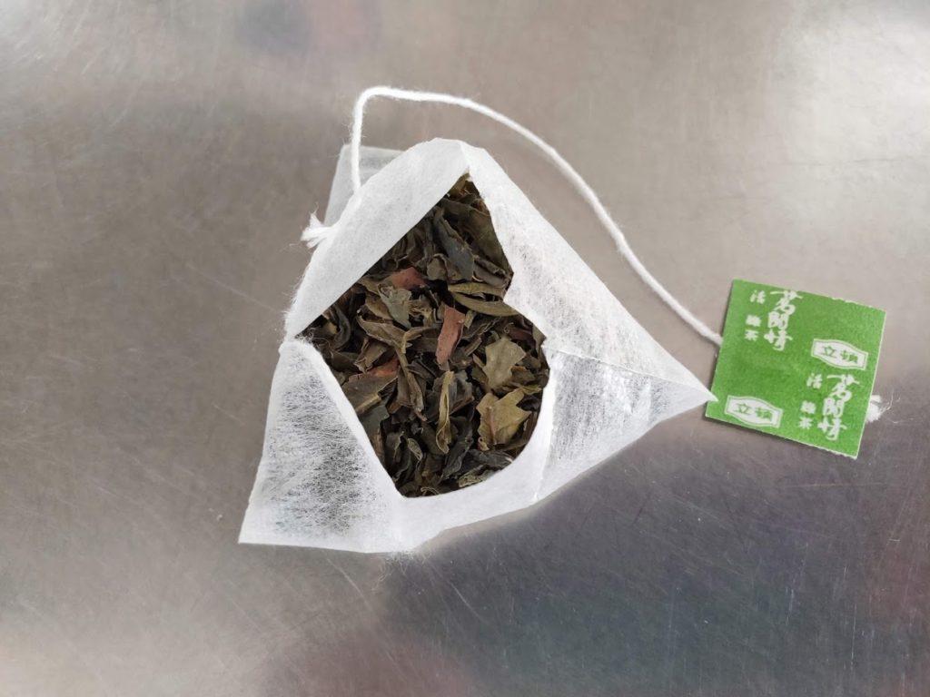台湾リプトンの緑茶パック
