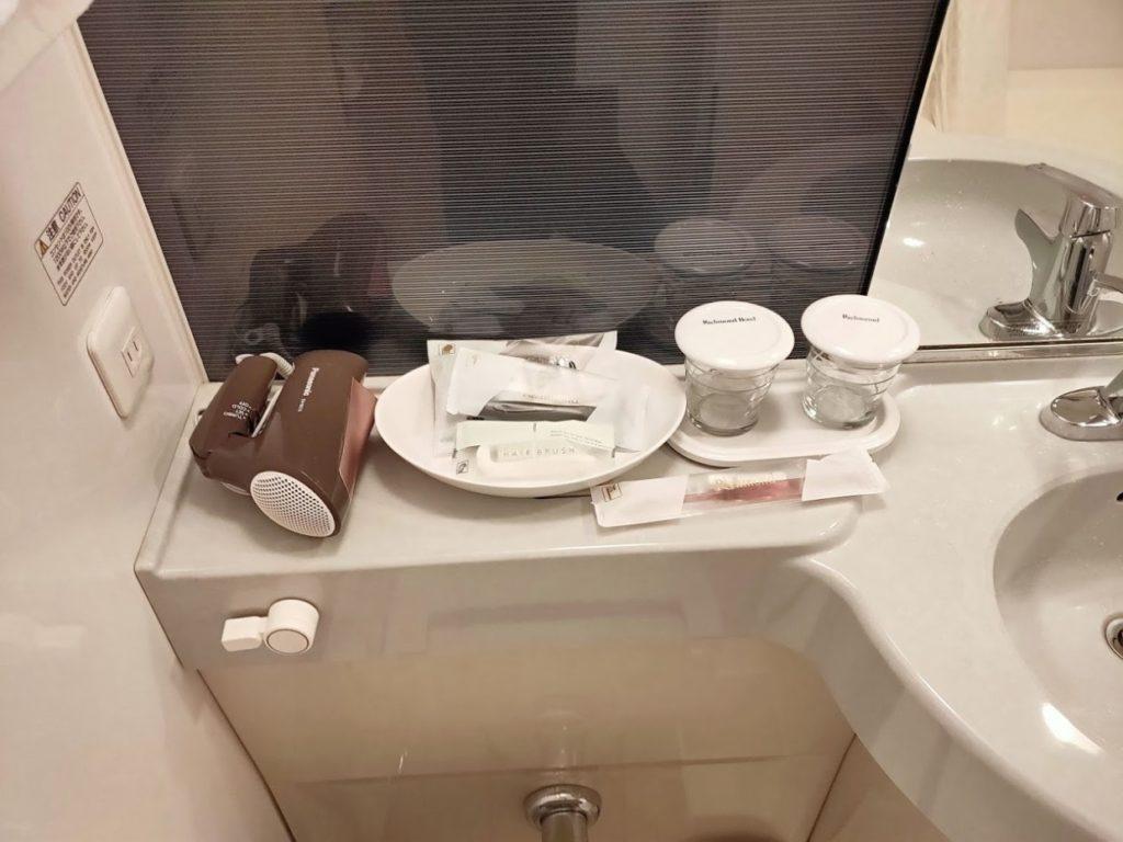 リッチモンドホテルのアメニティ