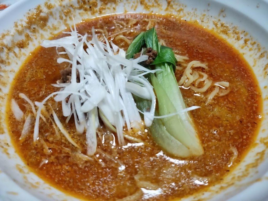 昇龍の坦々麺