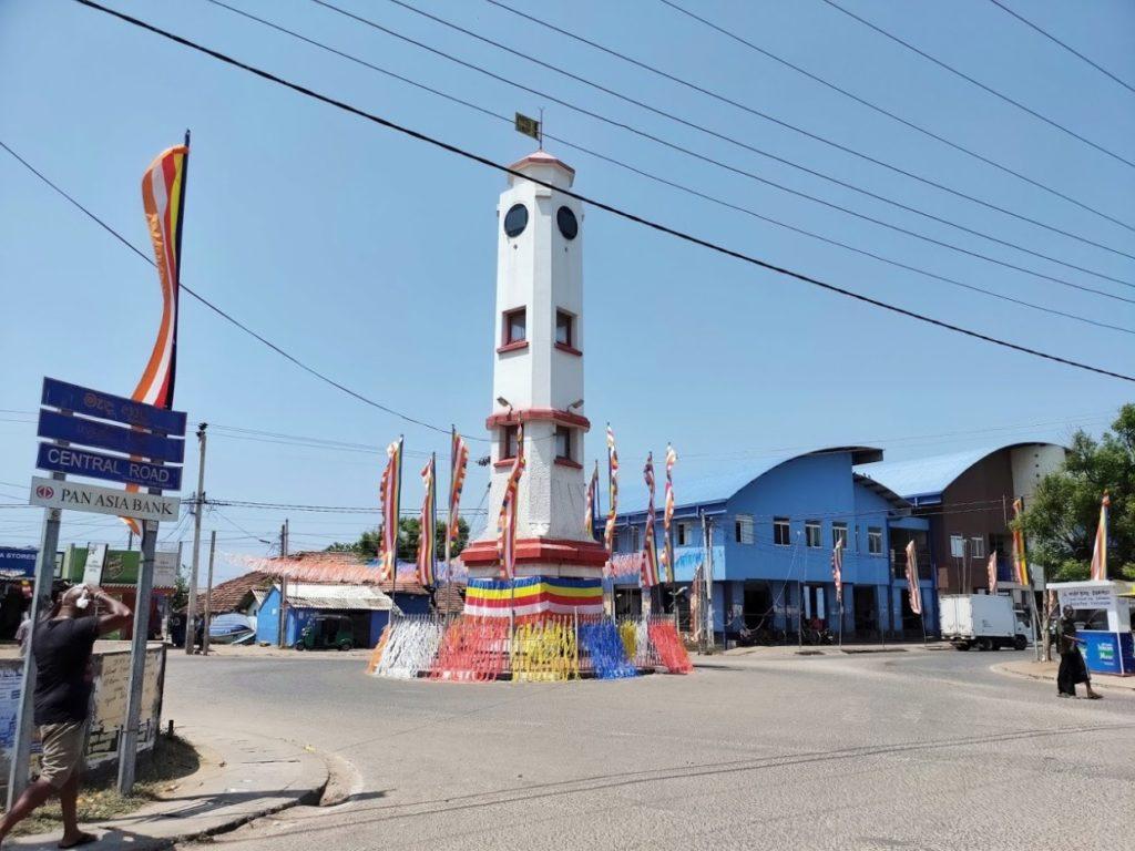 トリンコマリーの時計塔