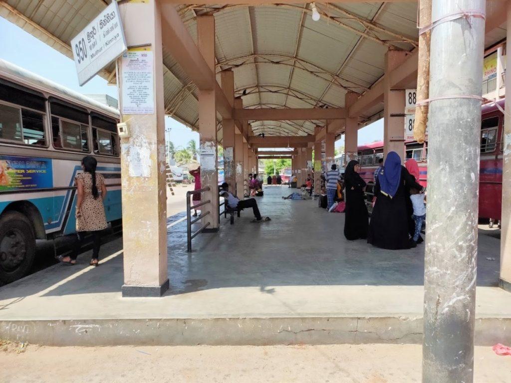 トリンコマリーバスステーション