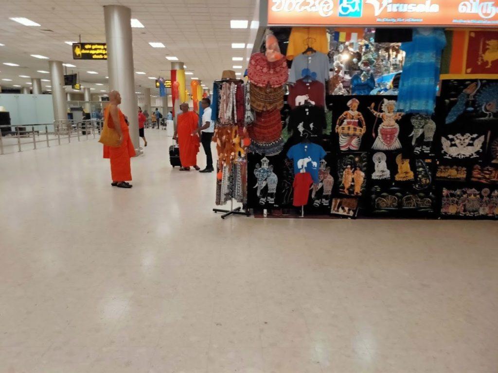 バンダラナイケ国際空港のショッピングエリア2