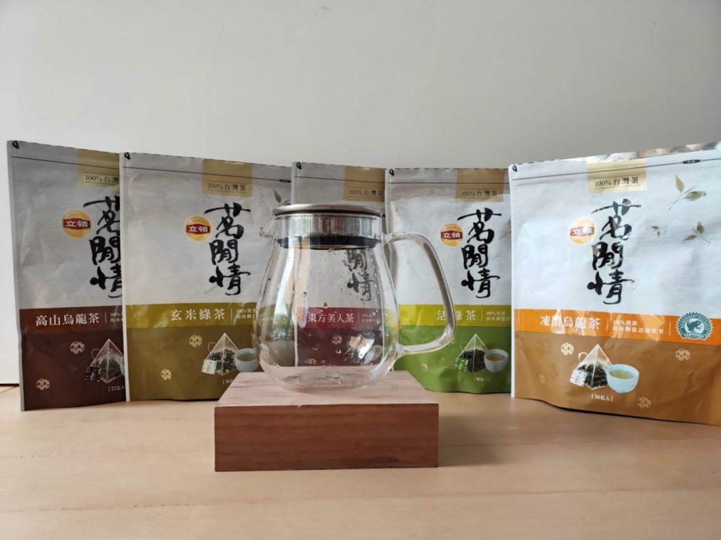 リプトンの台湾茶とKINTOのUNITEA2