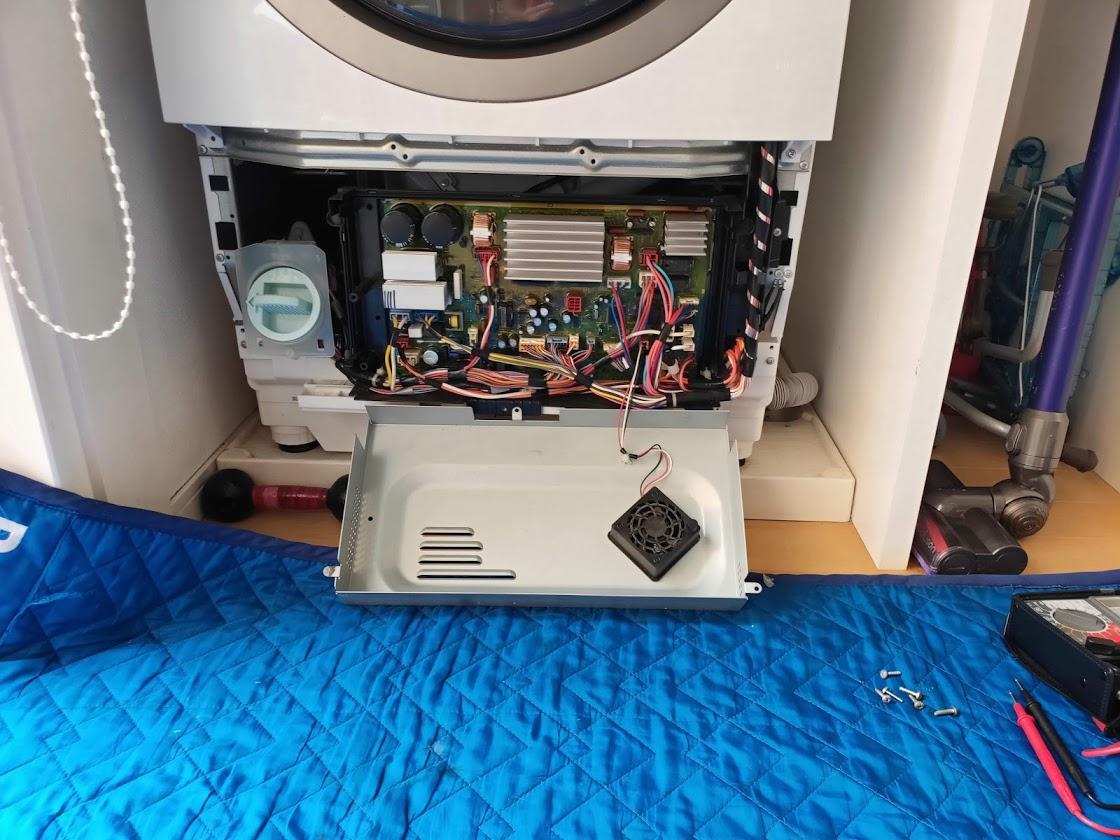 パナソニック洗濯機の基板