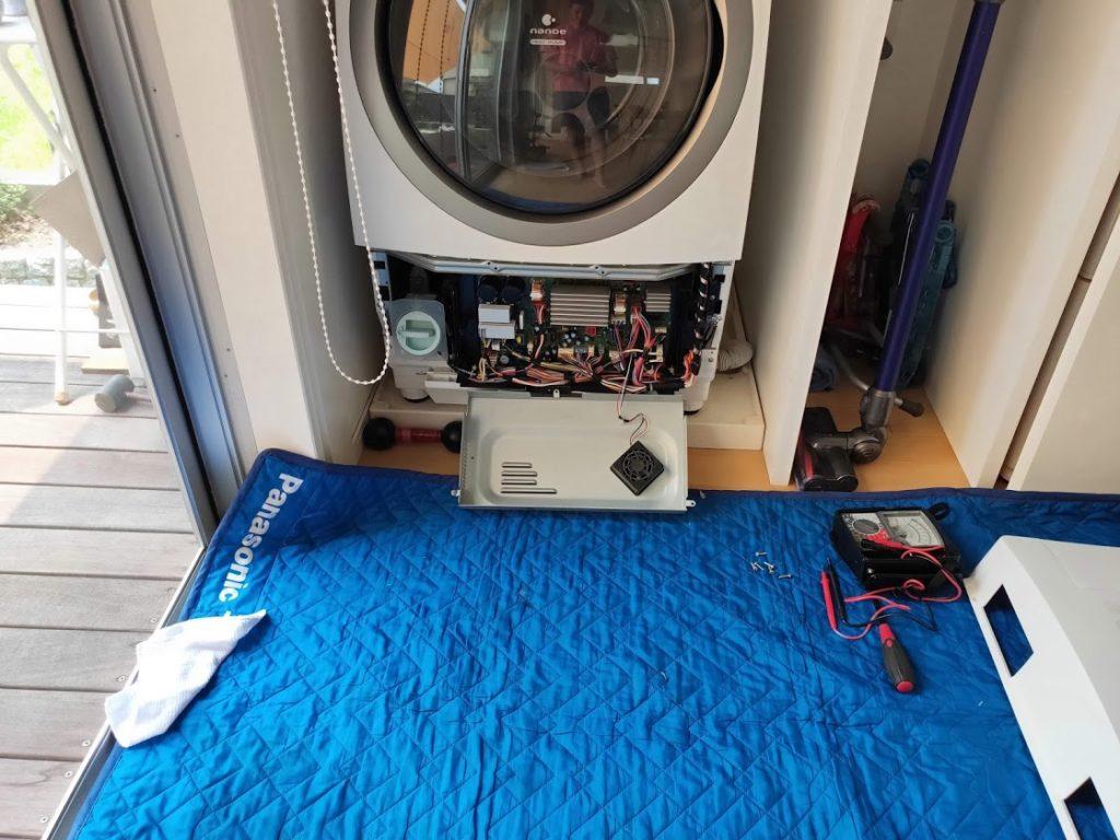 パナソニック洗濯機基板交換