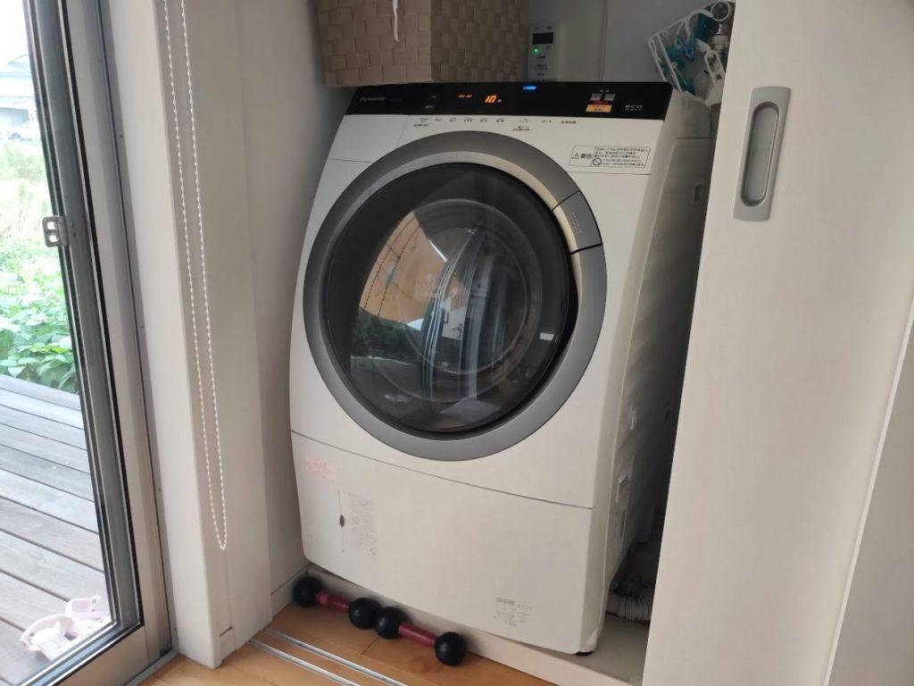 家で使っている洗濯機