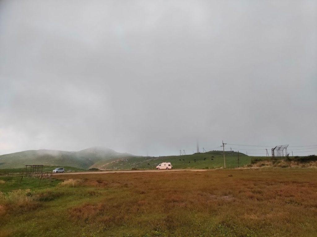 姫鶴平キャンプ場の雲