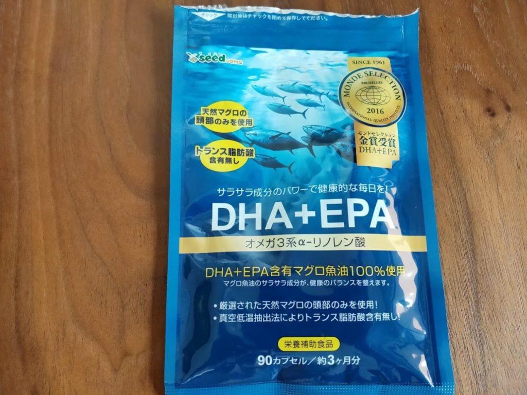 シードコムスサプリメントDHAEPAパッケージ