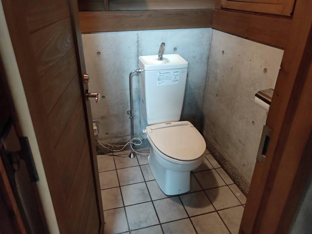 夢の森公園キャンプ場のトイレ