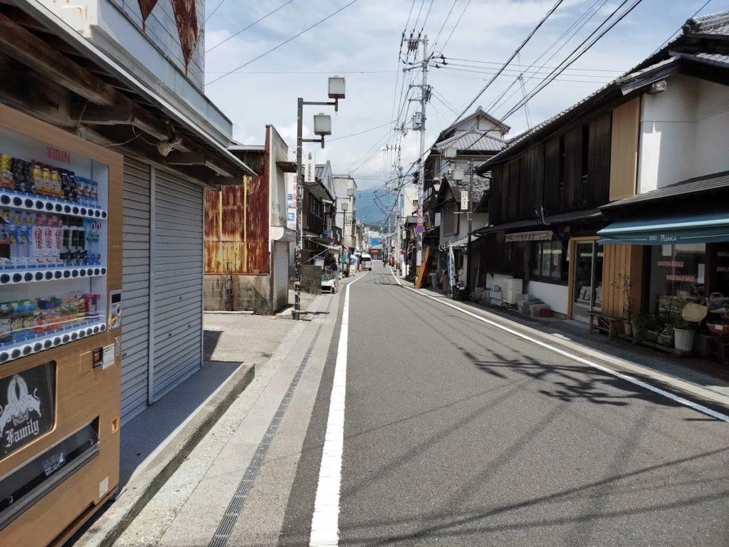 久礼大正町市場の道路