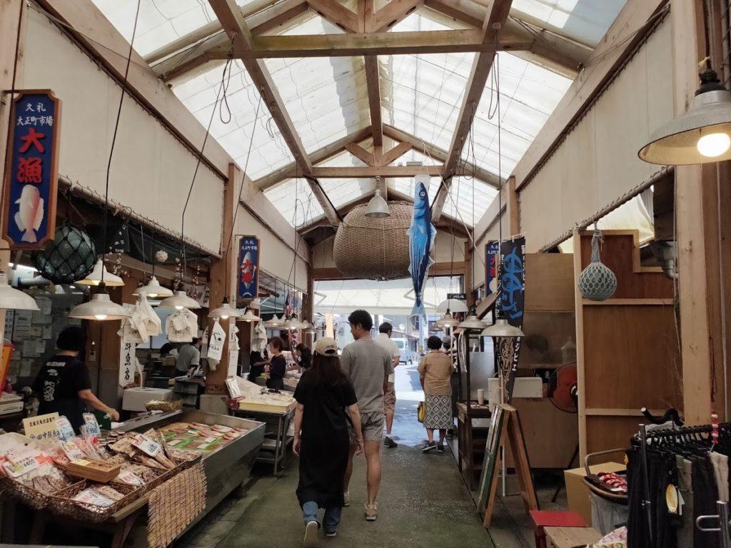 久礼大正町市場の道5