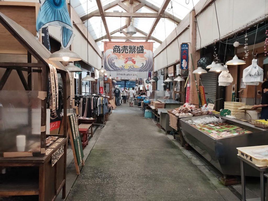 久礼大正町市場の道4