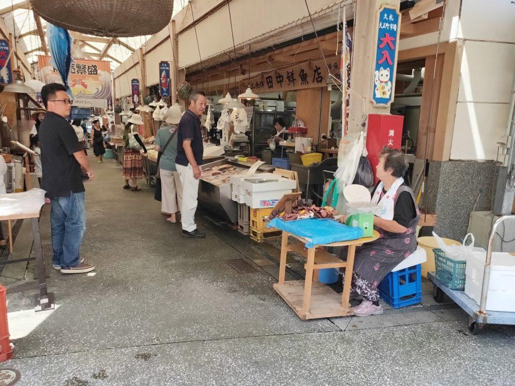 久礼大正町市場の道2