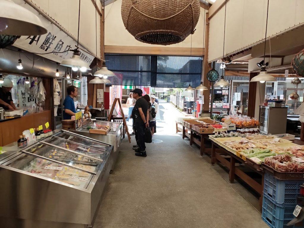 久礼大正町市場の道1