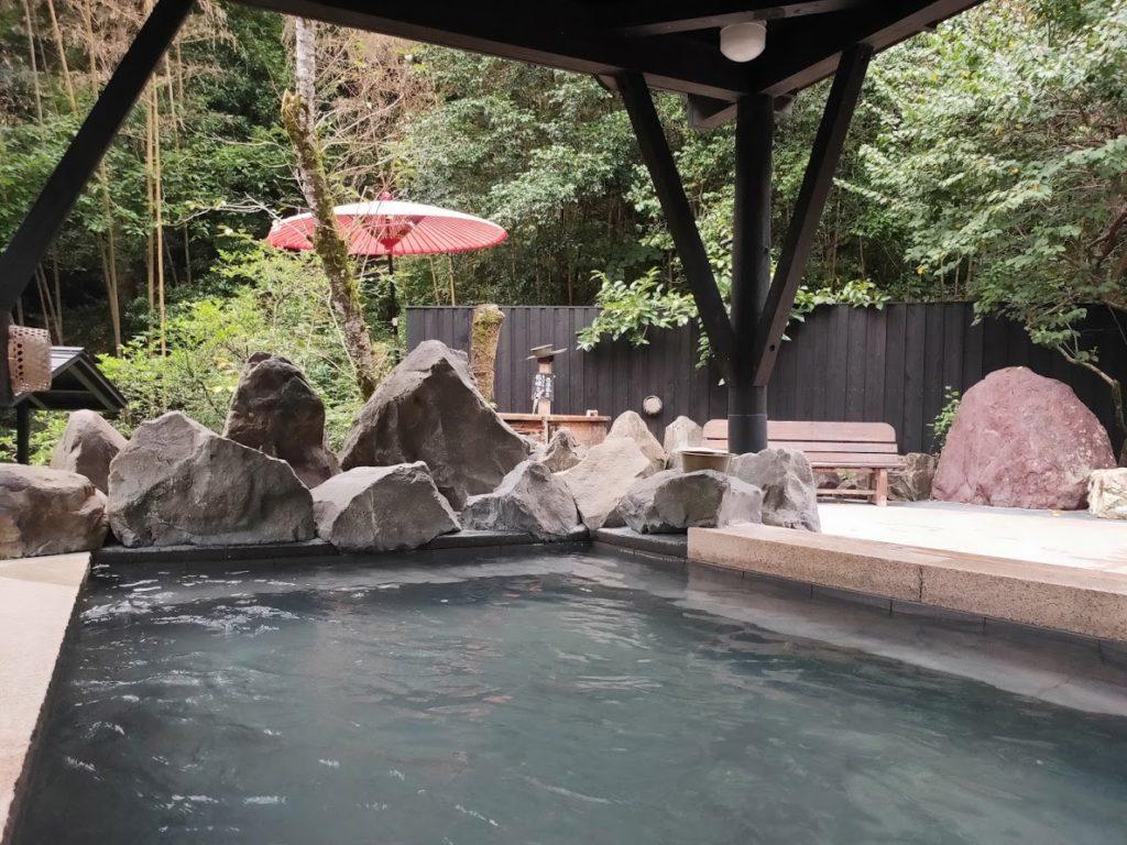 そうだ山温泉の露天風呂1