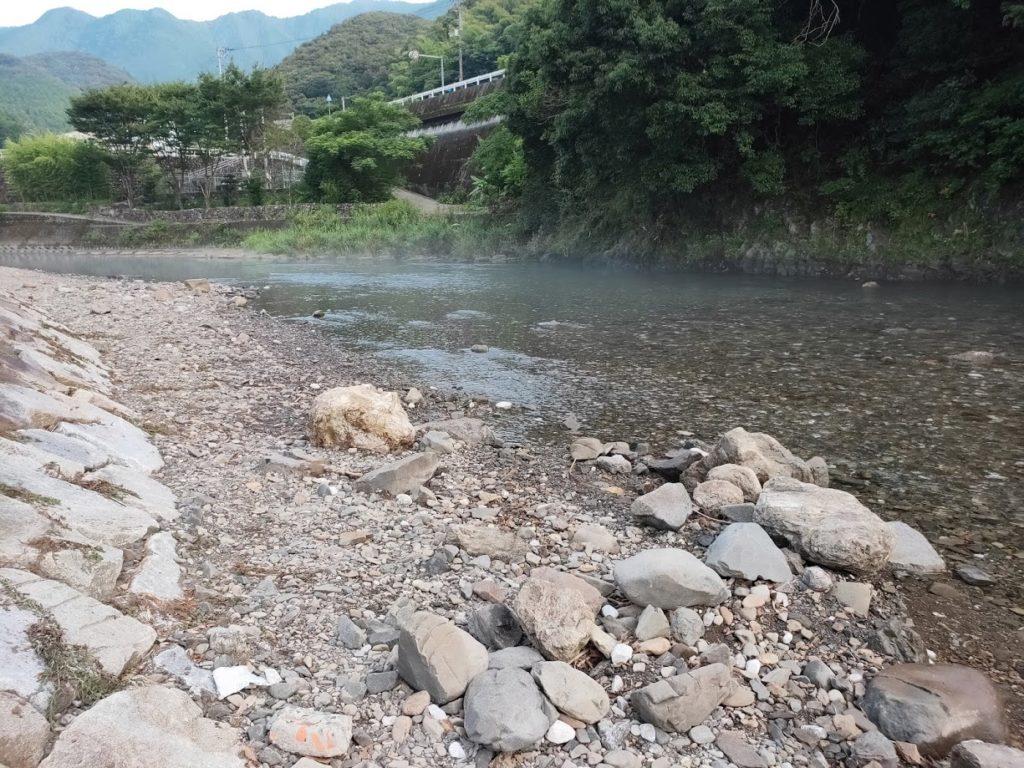 かわうそ自然公園のきれいな川