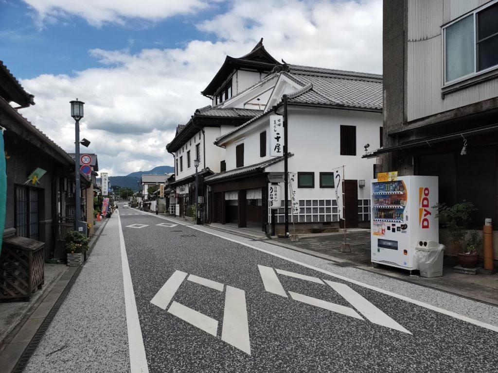 日田まぶし千屋の道