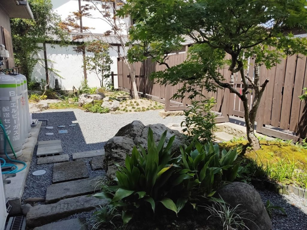 日田まぶし千屋の庭