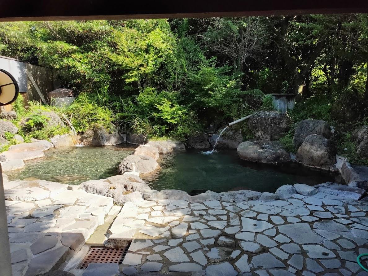 九重グリーンパーク泉水キャンプ村の露天風呂