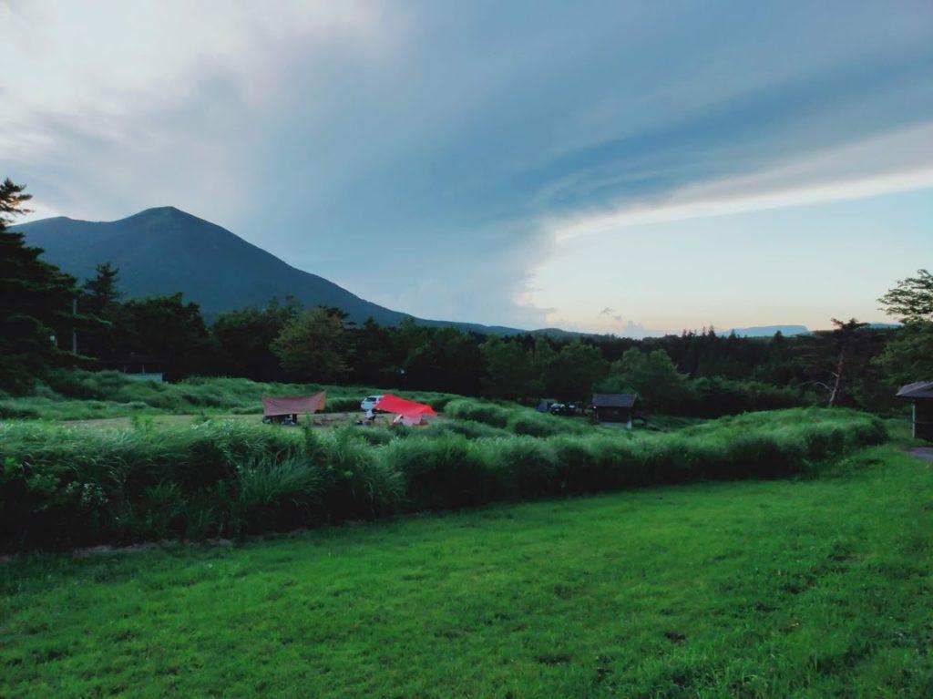 九重グリーンパーク泉水キャンプ村のキャンプ場画像1