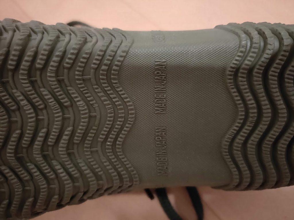 スピングルムーブSPM125底面の日本製の印