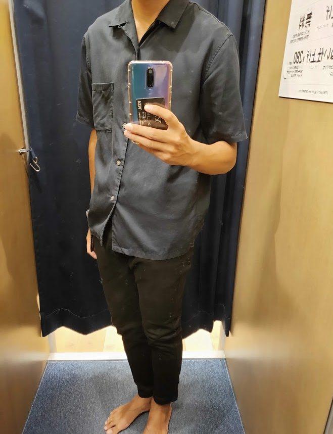 ユニクロのスキニーフィットチノ今日の私服