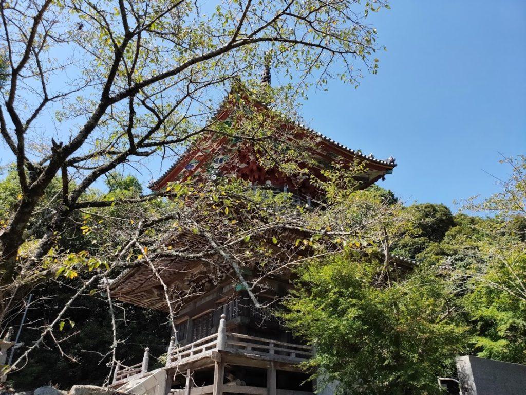 8番熊谷寺の多宝塔