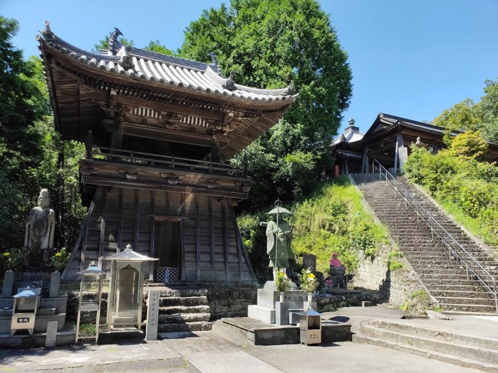 8番熊谷寺の修行大師