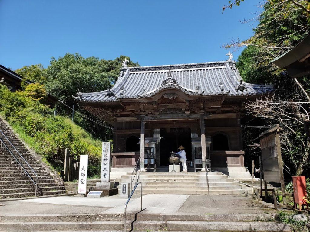 8番熊谷寺の本堂