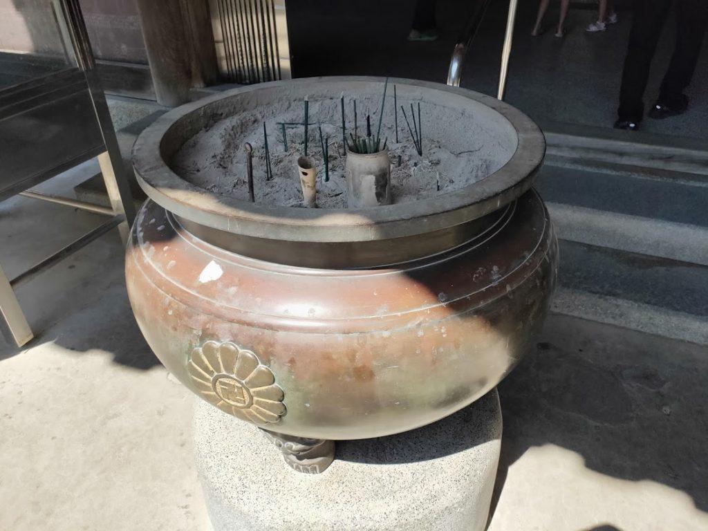 8番熊谷寺のお香