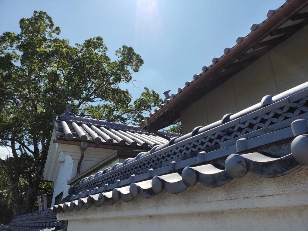 9番法輪寺の外壁