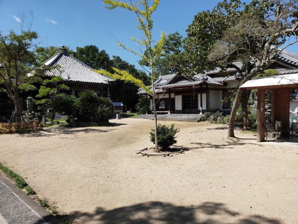 9番法輪寺の庭