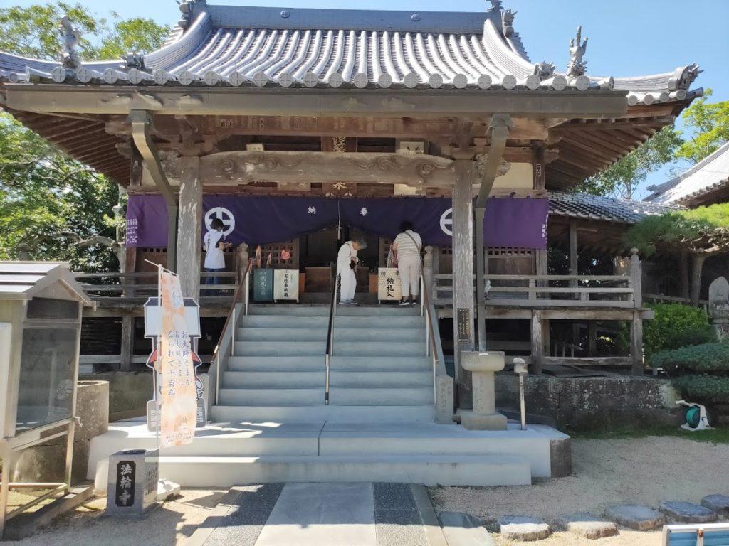 9番法輪寺の本堂