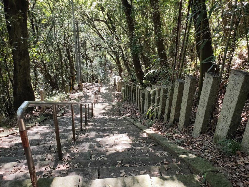 10番切幡寺の戻る坂