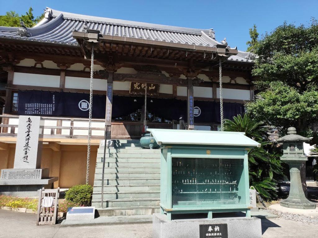 7番十楽寺の本堂