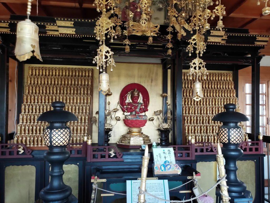 7番十楽寺の愛染明王