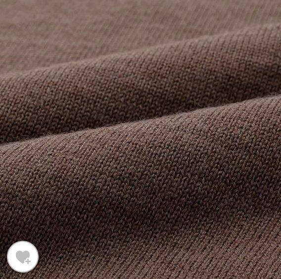 ユニクロUメリノブレンドタートルネックセーターの素材