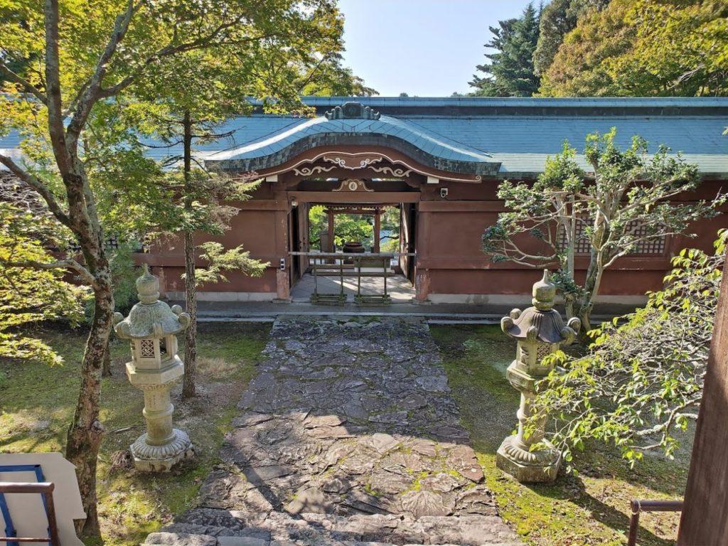 82番根香寺の庭