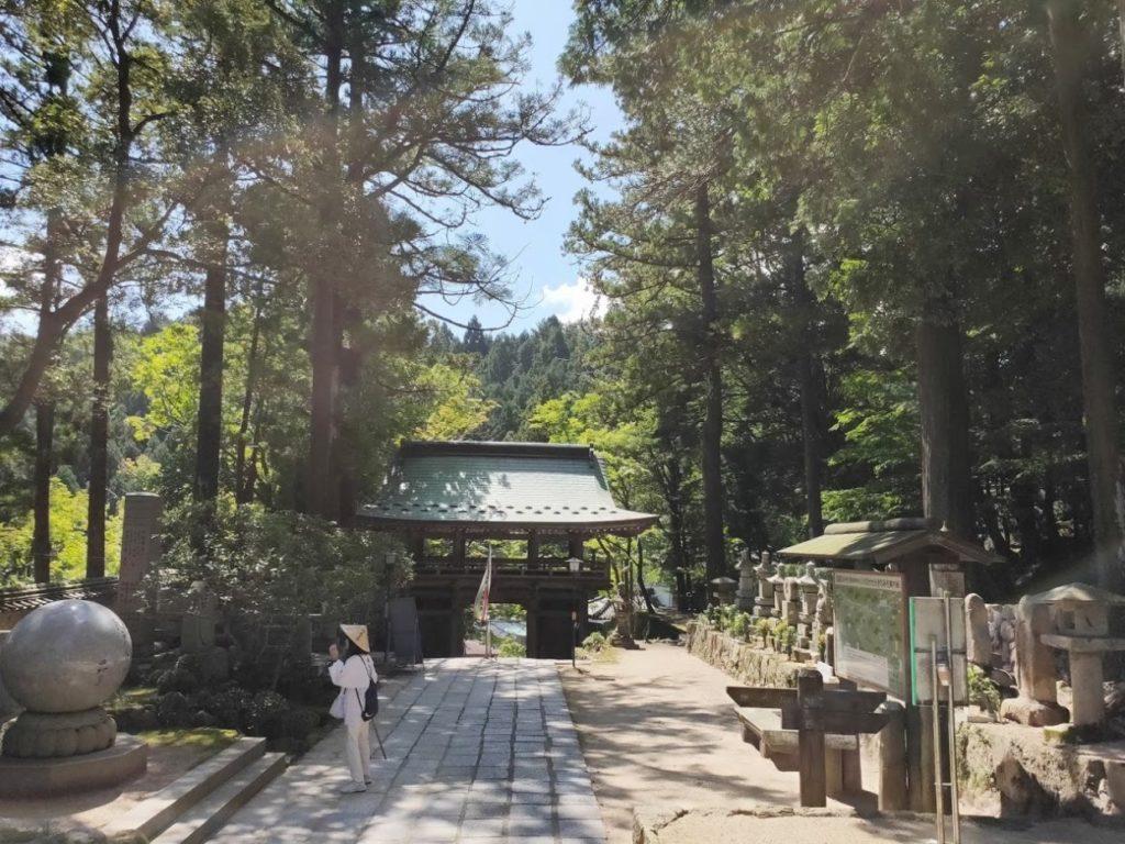 88番大窪寺のいい景色