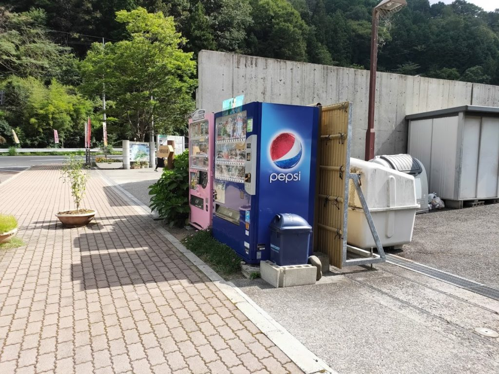 道の駅ことなみのゴミ箱