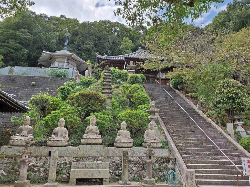 68番神恵院69番観音寺の仏像