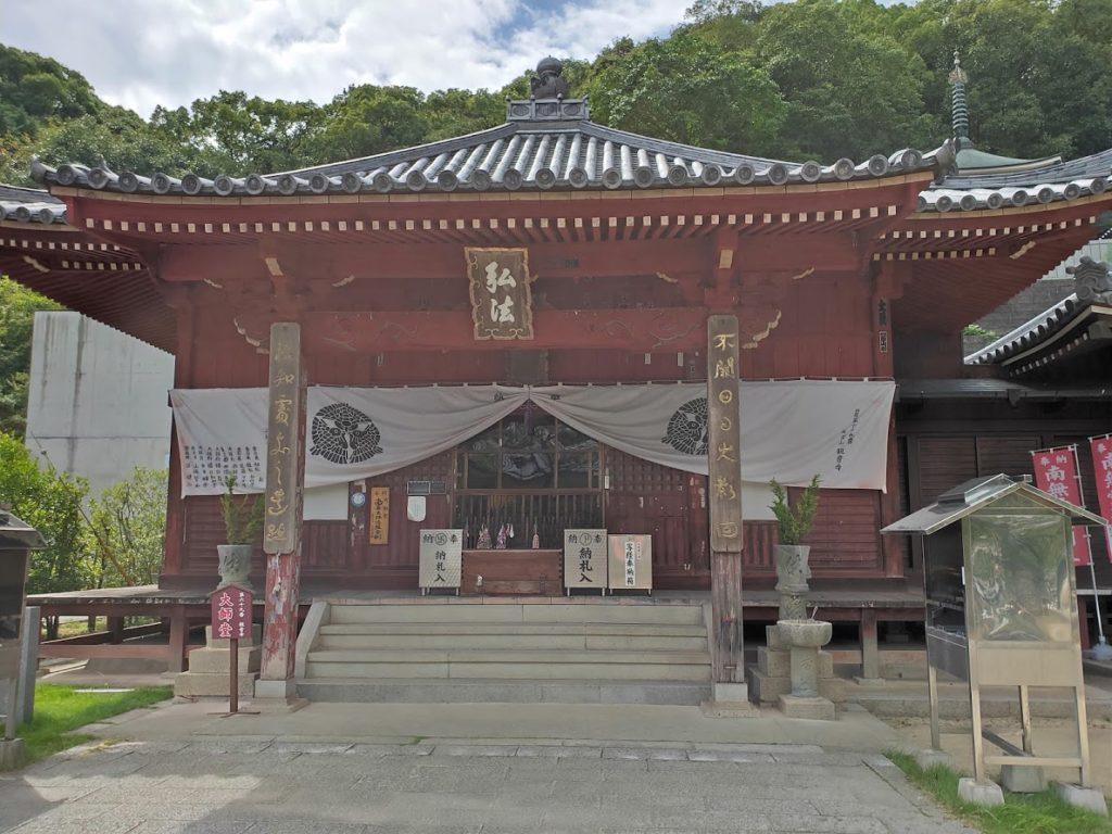 68番神恵院69番観音寺の大師堂