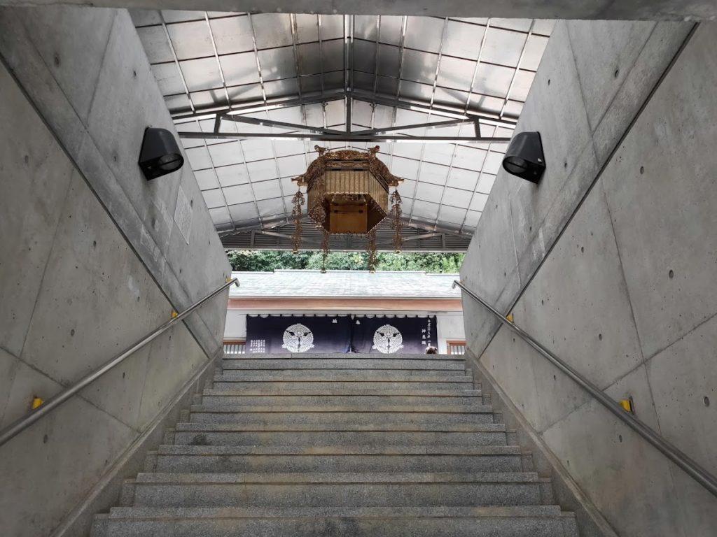 68番神恵院69番観音寺の68番本堂の飾り