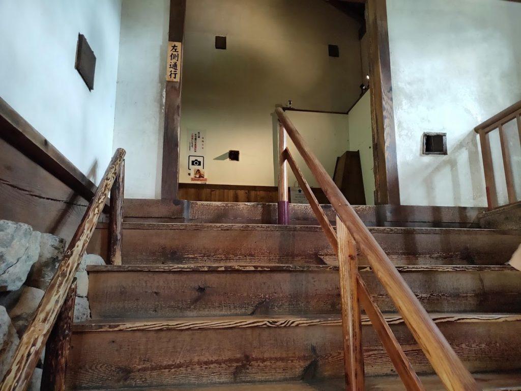 松江城の入り口