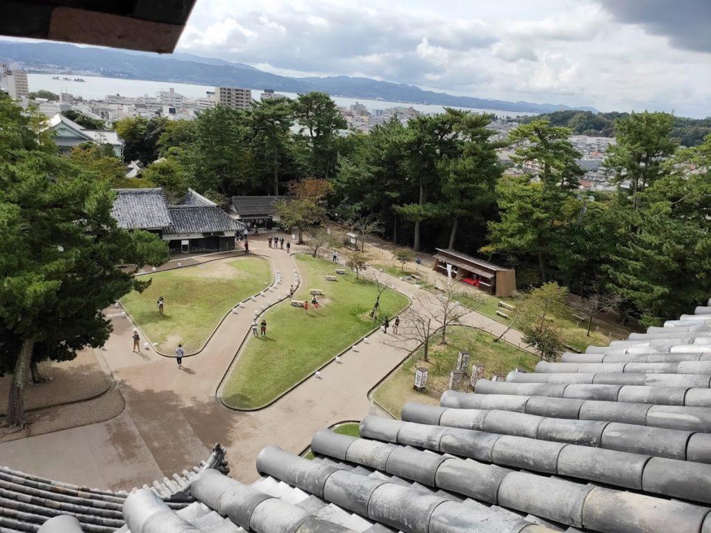 松江城からの眺め1