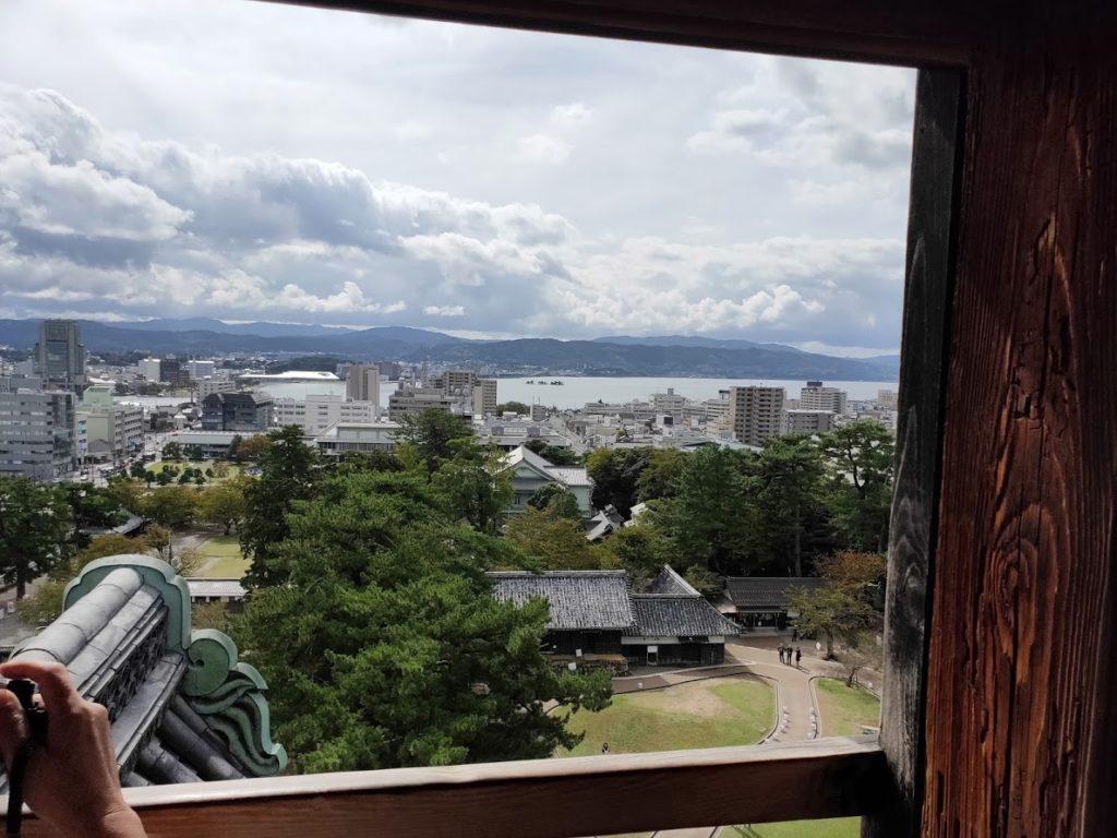 松江城からの眺め2