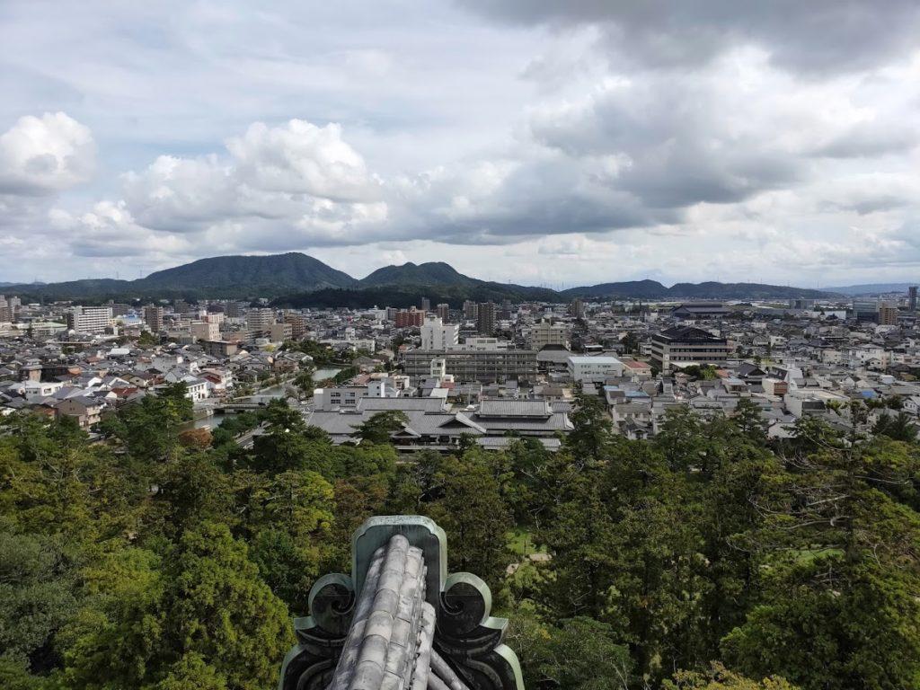 松江城からの眺め3